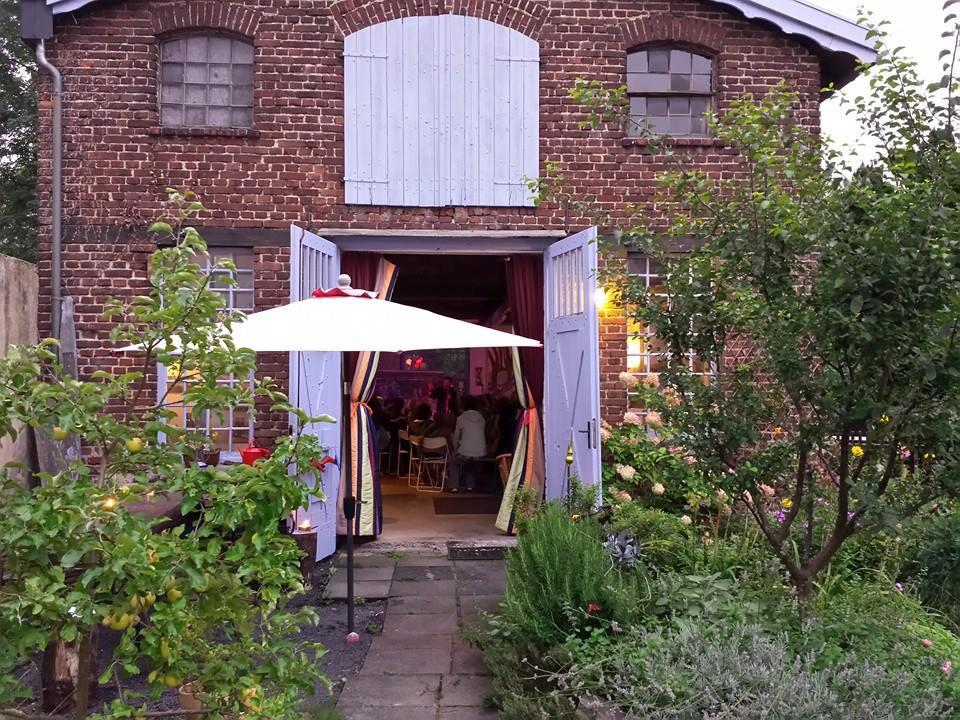 Das Bild zeigt das Künstleratelier und Werkstatt ROSA AUSSICHT in Siegburg