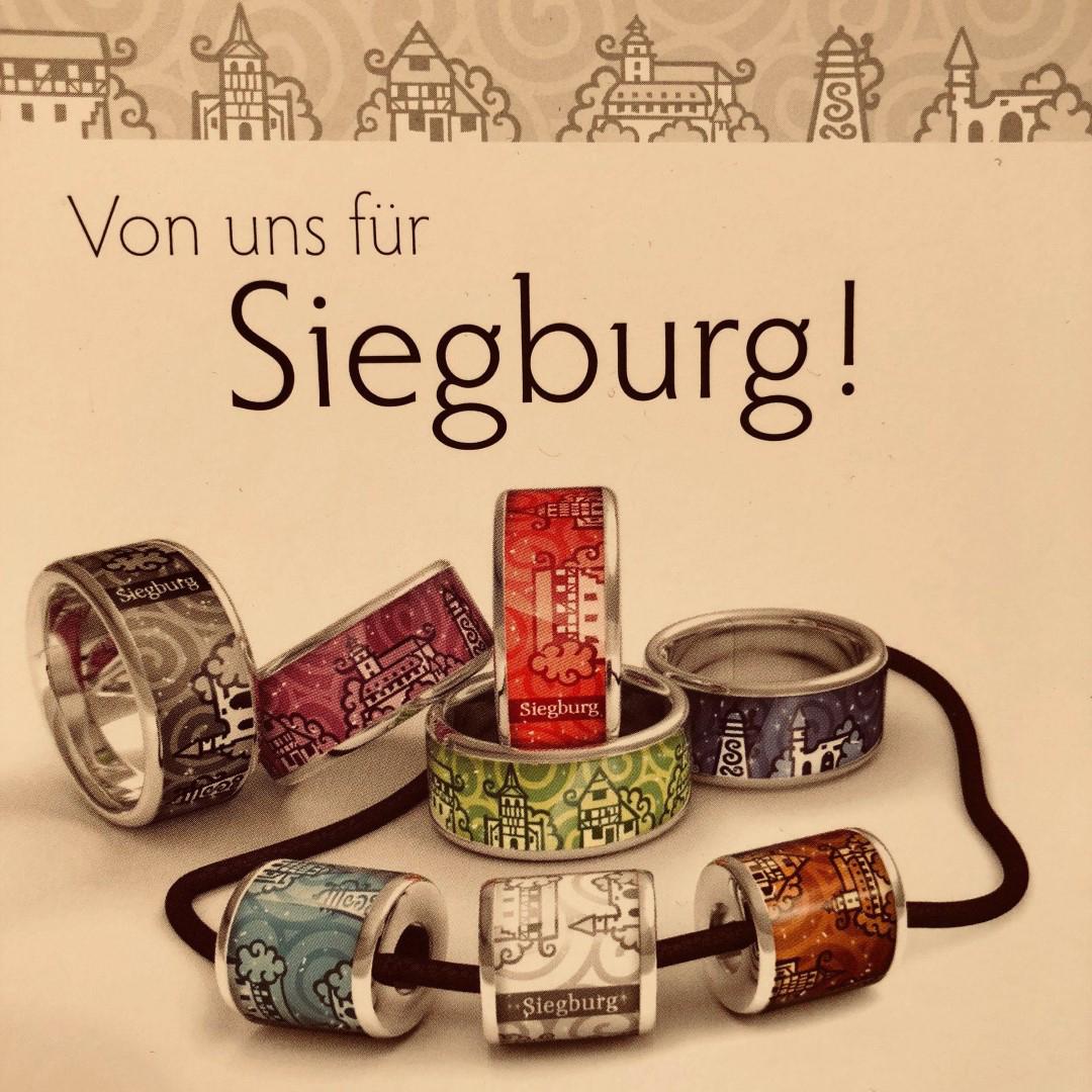 Das Bild zeigt das Produktsortiment des Juweliers Rothe in Siegburg