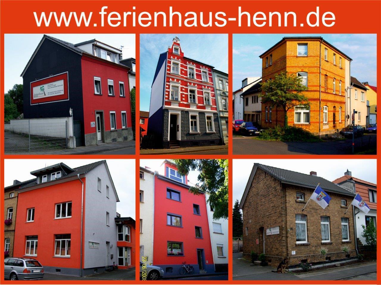 Das Bild zeigt das Ferienhaus Dirk Henn in Siegburg