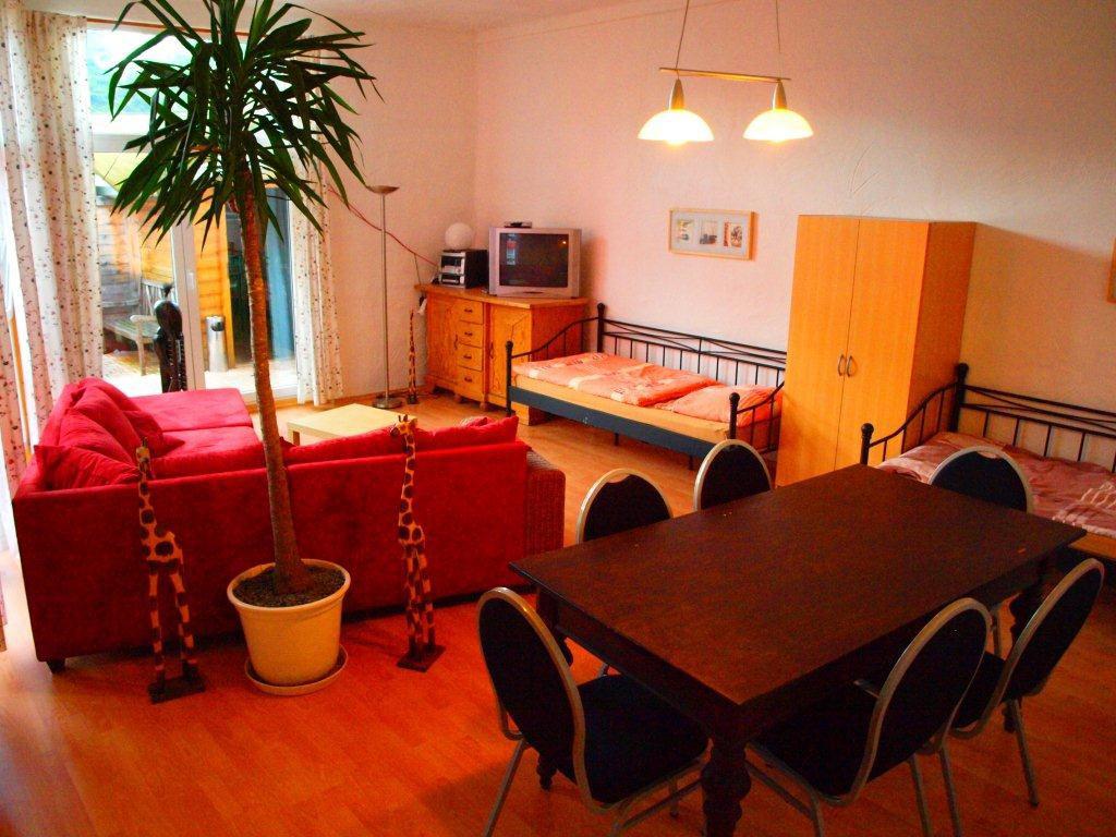 Das Bild zeigt die Räume des Ferienhauses Dirk Henn in Siegburg