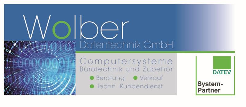 Das Bild zeigt das Logo der Wolber Datentechnik GmbH