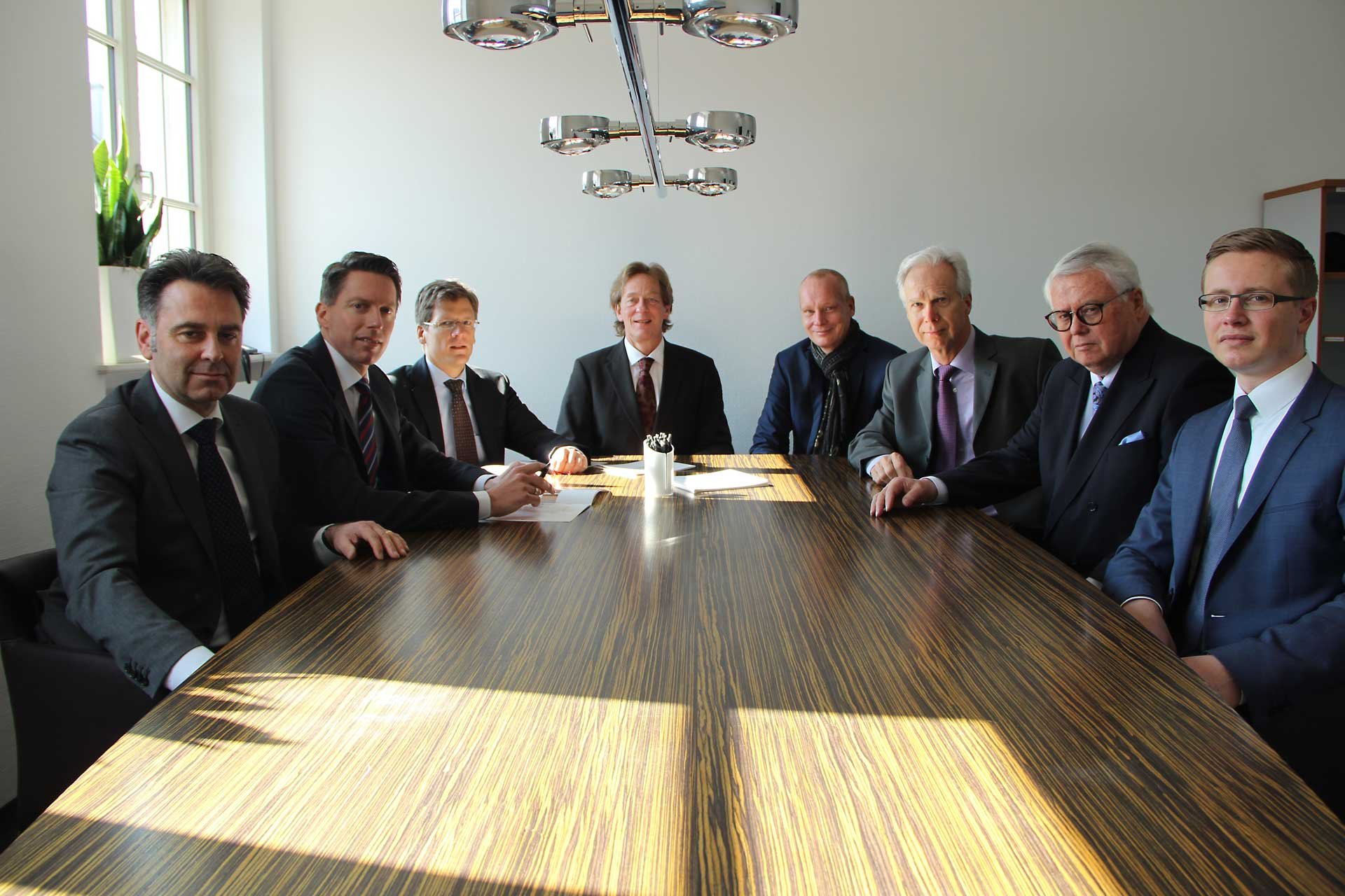 Das Bild zeigt die Anwälte der Kanzlei RSW Rechtsanwälte