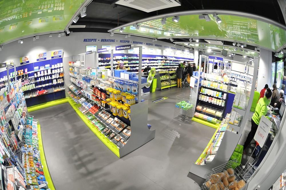 Das Bild zeigt den Verkaufsraum der easyApotheke Siegburg City