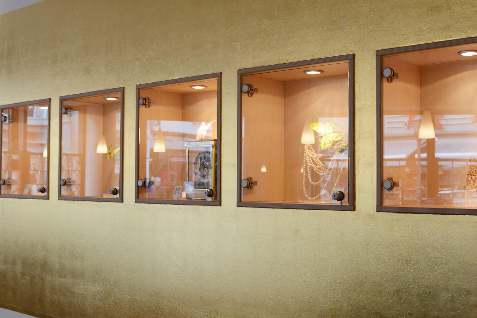 Bild vom Innenbereich des Siegburger Schmuckkontors