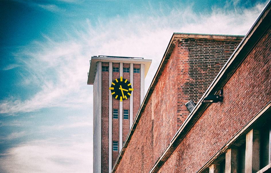 """Das Bild zeigt das alte Fabrikgelände """"Am Turm"""" in denen sich die Räume der bonnprint.com GmbH befinden"""
