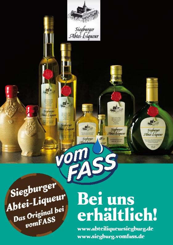 Das Bild zeigt ein Werveplakat vomFASS Siegburg