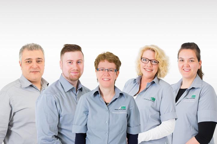 Das Bild zeigt das Team von rahm Zentrum für Gesundheit GmbH