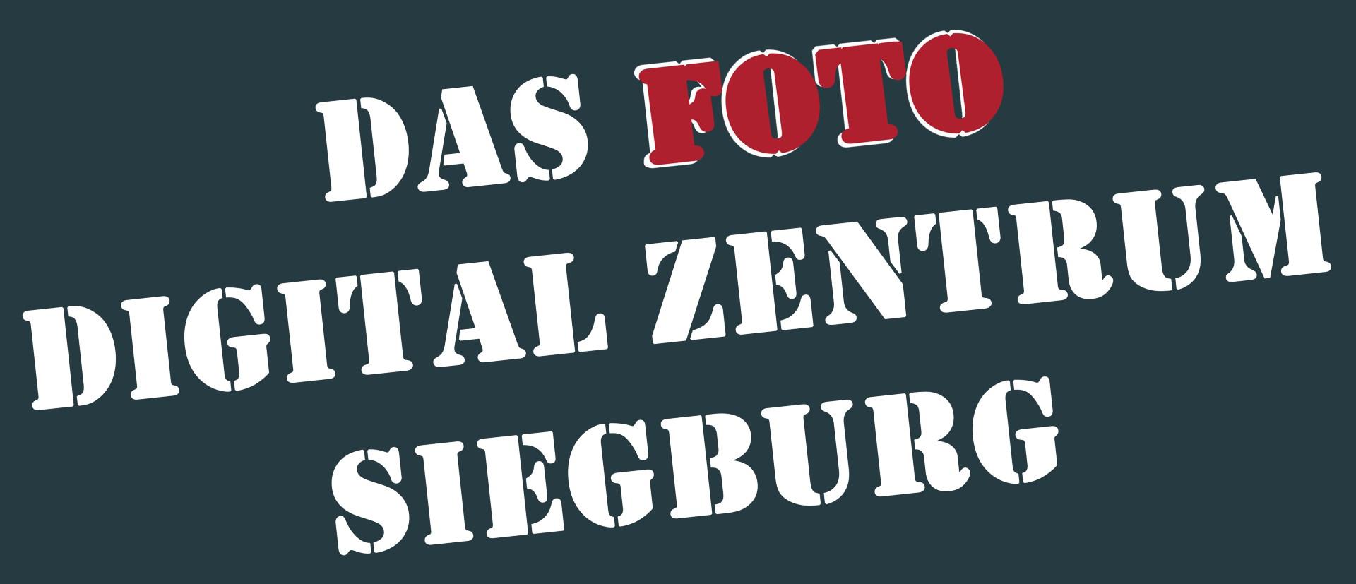 Das Bild zeigt das Logo des Foto & Digital Zentrum Siegburg