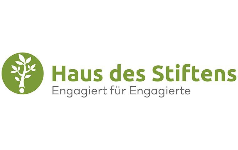Das Bild zeigt das Logo der Haus des Stiftens GmbH