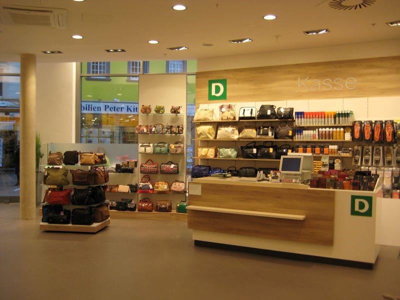 Das Bild zeigt die Verkaufsfläche von Deichmann