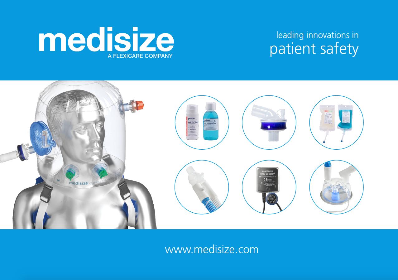 Das Bild zeigt eine Werbegrafik der Medisize Deutschland GmbH