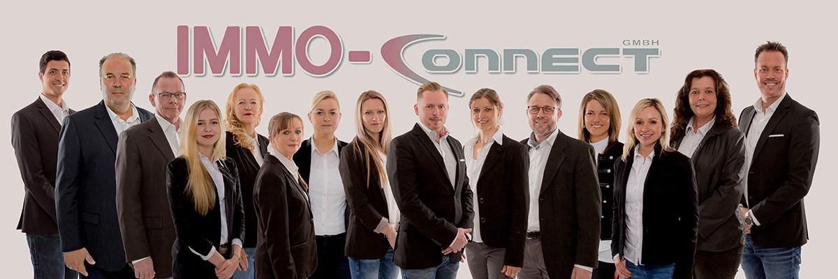 Das Bild zeigt das Team der Immo-Connect GmbH