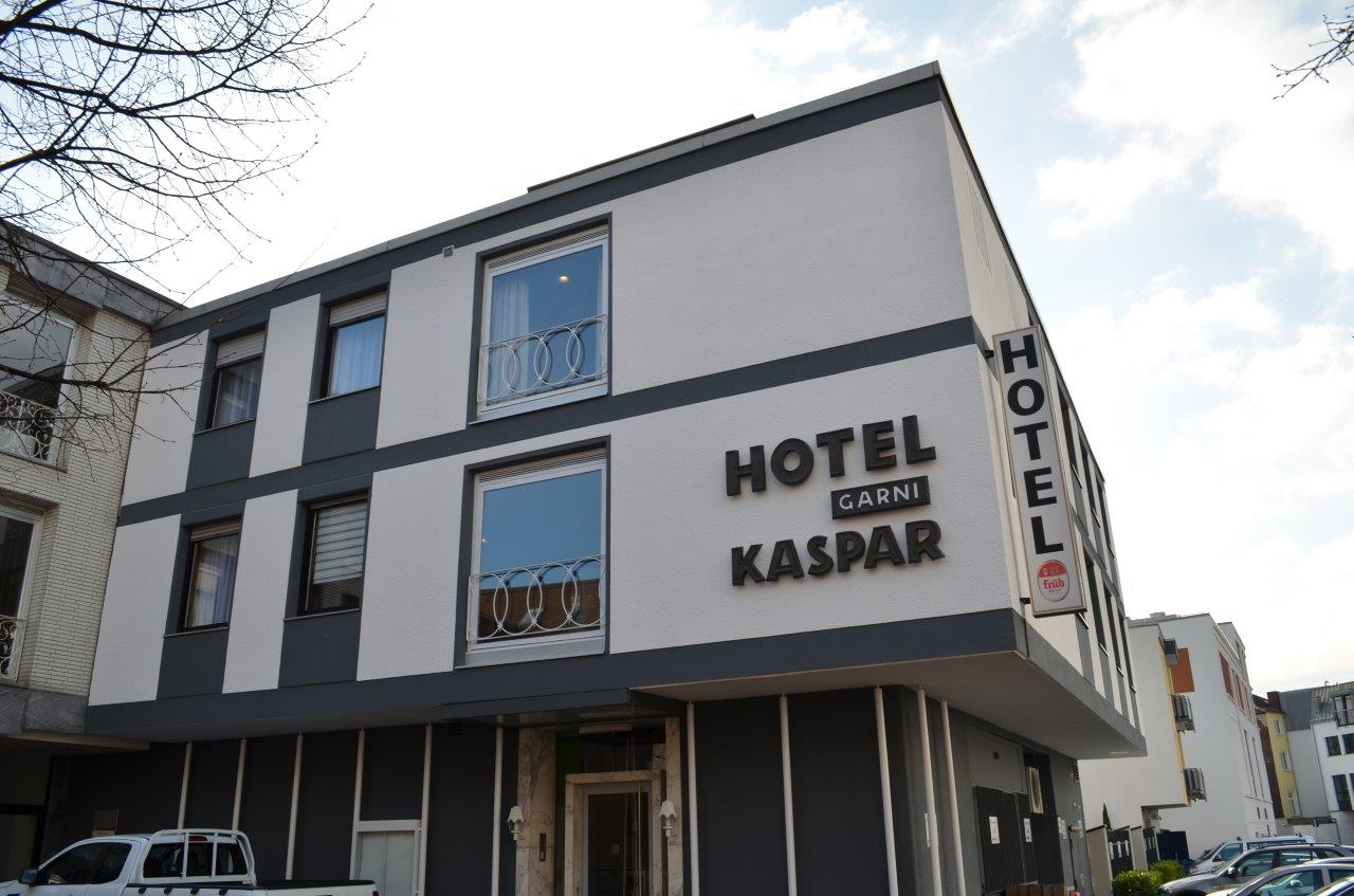 Das Bild zeigt das Hotel KASPAR garni
