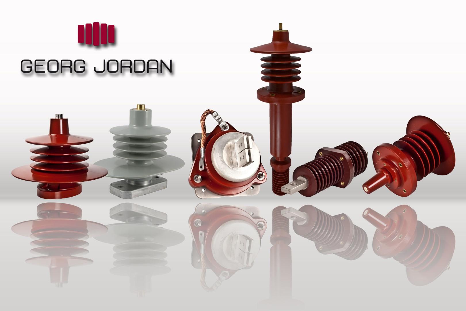 Das Bild zeigt einen Flyer der Georg Jordan GmbH