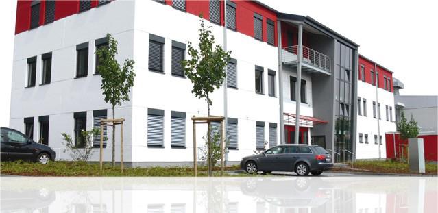 Das Bild zeigt das Firmengebäude der Georg Jordan GmbH von außen