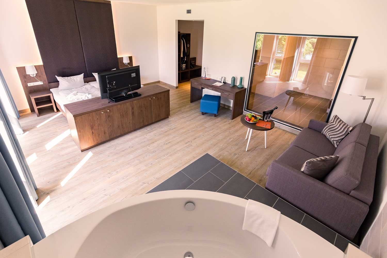 Auf dem Bild sieht man ein Zimmer des Frindly Cityhotel Oktopus