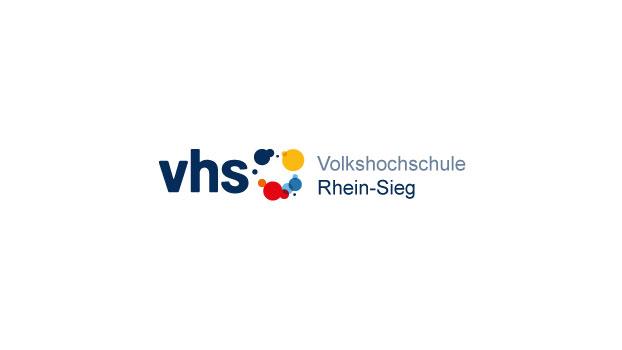 Das Bild zeigt das Logo der VHS Rhein-Sieg