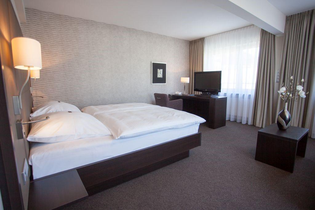 Das Bild zeigt ein Zimmer des Hotels Kaiserhof