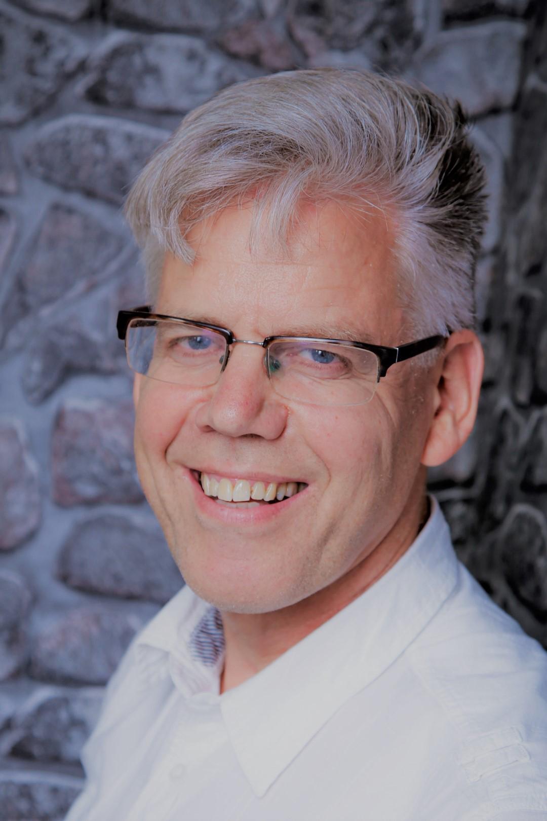 Das Bild zeigt Peter Snoek