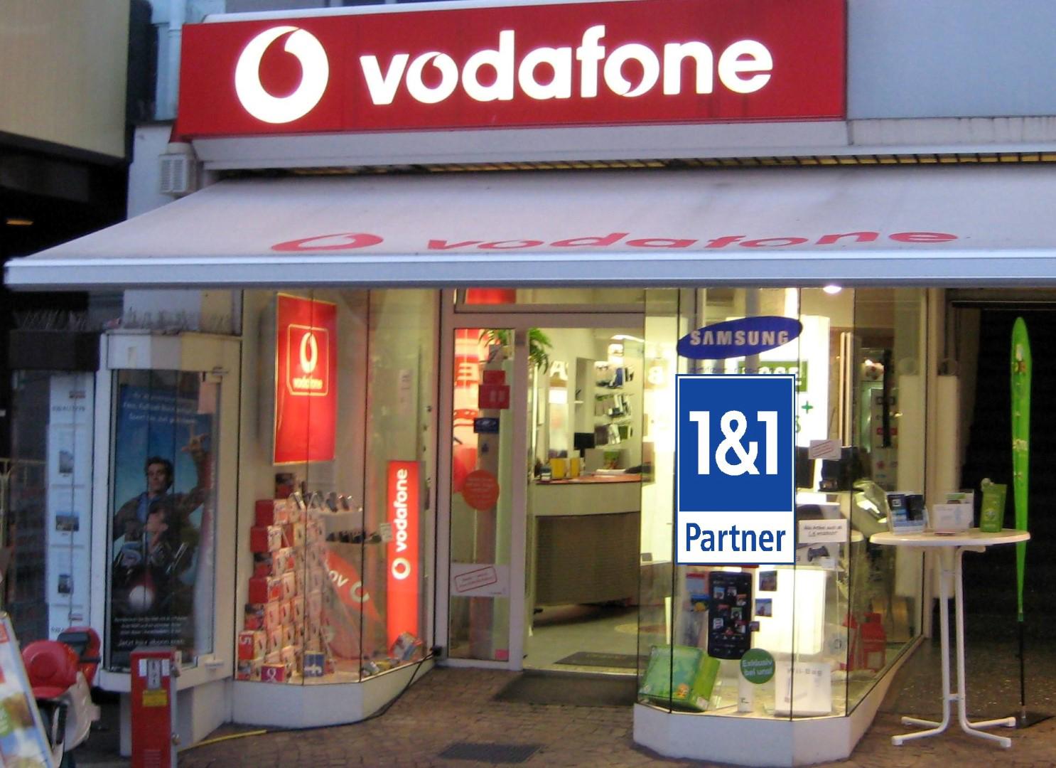 Das Bild zeigt das Geschäft von Cityline Telekommunikation Siegburg von außen
