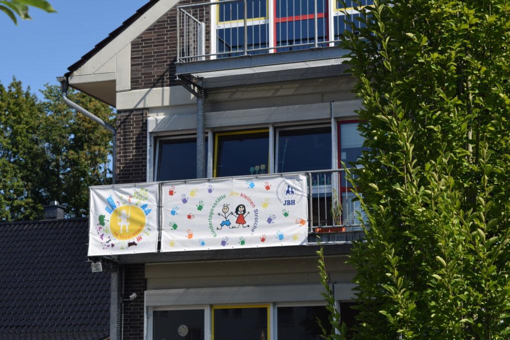 """Gebäude der Kindertagesstätte """"Die kleinen Strolche"""""""