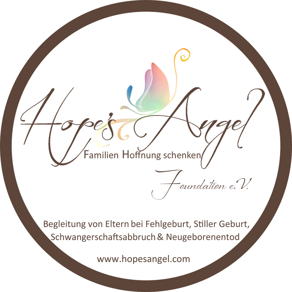 Das Bild zeigt das Logo der Hope's Angel Foundation e.V.