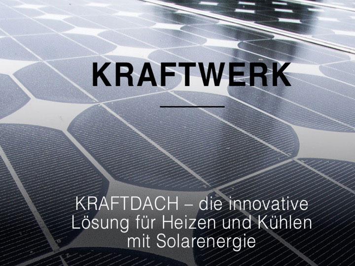 Das Bild zeigt das Kraftdach der Kraftwerk Solutions GmbH