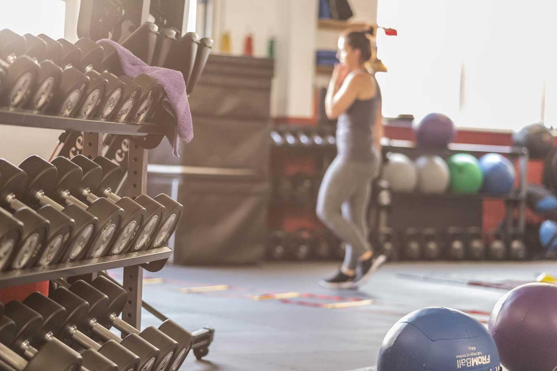 Auf dem Bild ist das Sportstudio DIE KISTE Trainingskonzepte zusehen