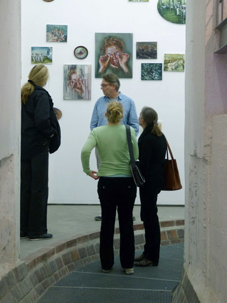 Bilder einer Ausstellung im alten Pumpwerk in Siegburg