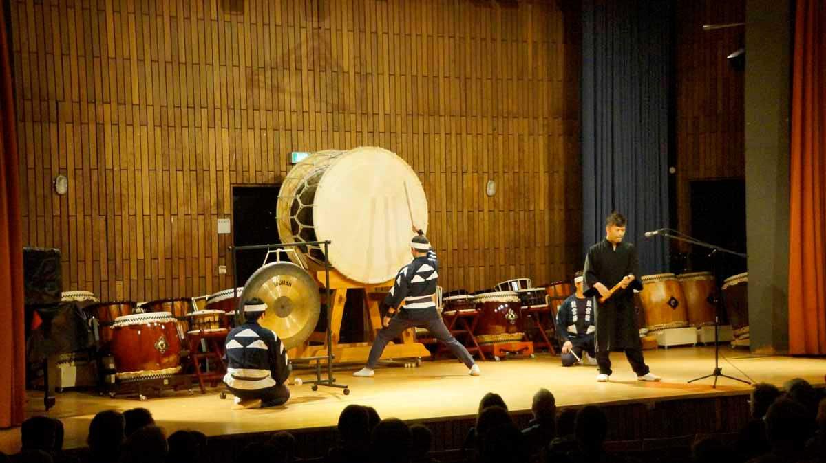 Bild vom Taiko-Konzert