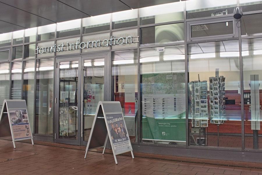 Bild der Touristinformation Siegburg