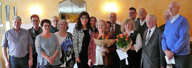 Gruppenfoto der Mitarbeiter des VdK Ortsverbandes Siegburg