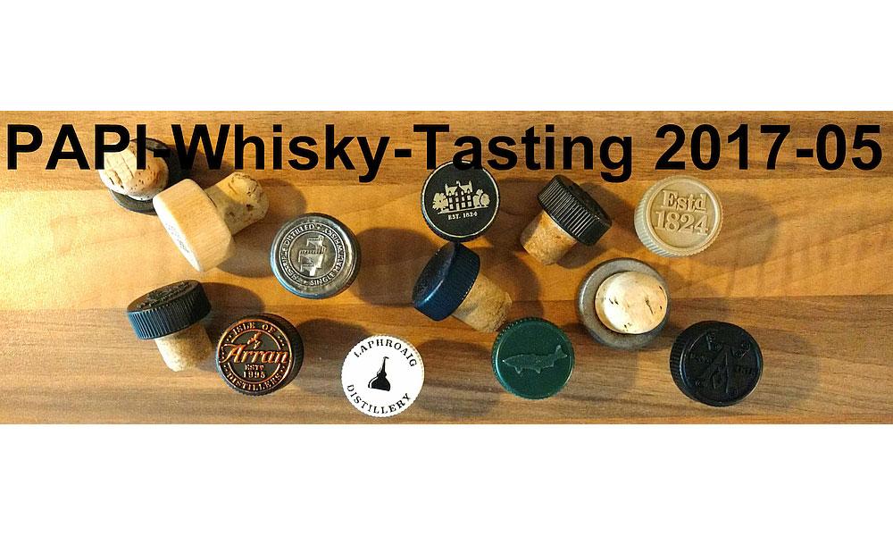 Whisky-Tasting-Aktion des PAPI-Stammtisch Siegburg