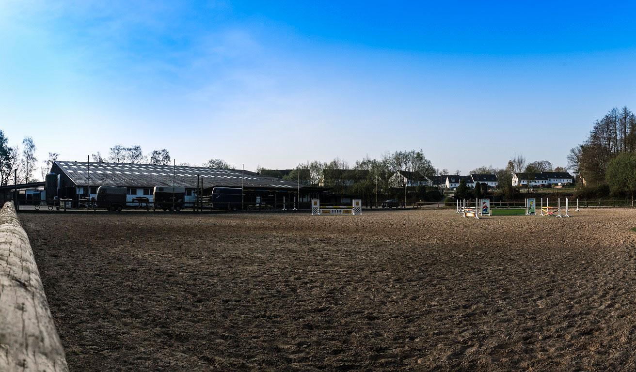 Anlage des Reitsportzentrums Siegburg
