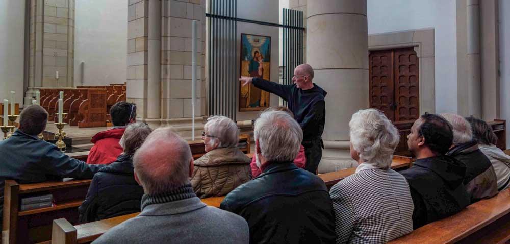 Bild der Exkursion zum Kloster Gerleve
