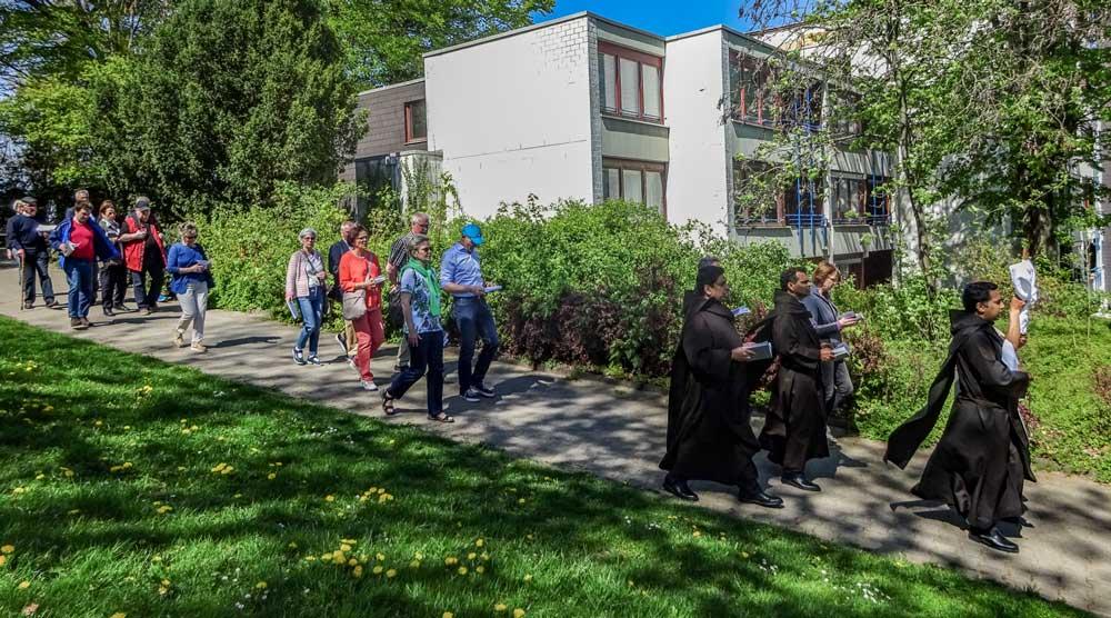 Bild einer Exkursion der Verein der Freunde und Förderer des Michaelsberges e.V.