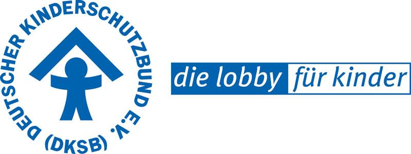 Das Bild zeigt das Logo des Deutschen Kinderschutzbund e.V.