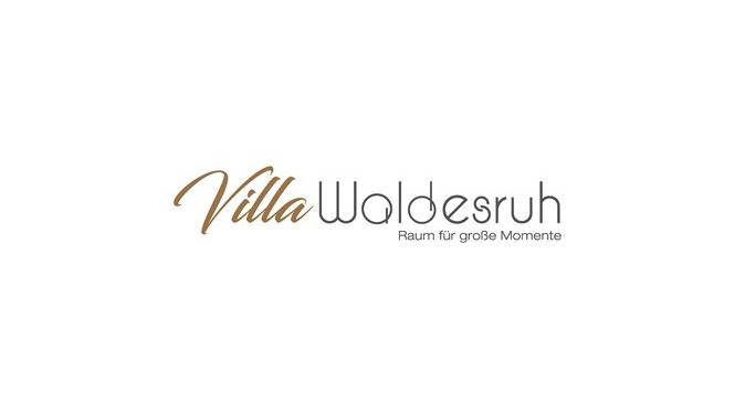 Das Bild zeigt das Logo der Villa Waldesruh