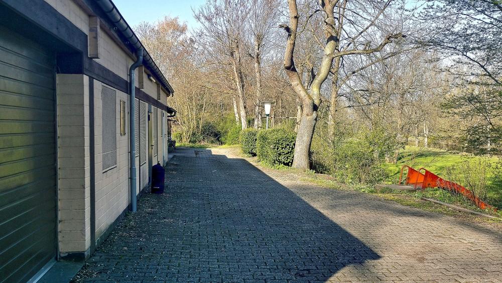 Bild von der Promenade vor dem Vereinsheim