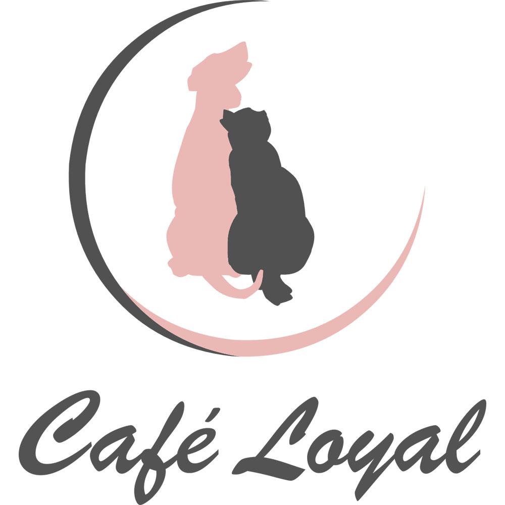 Das Bild zeigt das Logo des Café Loyal