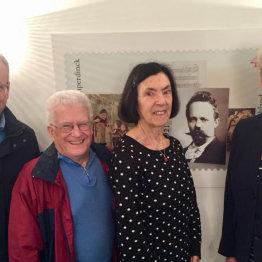 Auf dem Bild sind die Vorstandsmitglieder der Engelbert-Humperdinck-Freunde e.V. zusehen