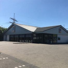 Das Bild zeigt die ALDI Süd Filiale in Siegburg in der Industriestraße 39 bis 41
