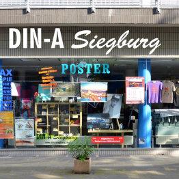 Das Bild zeigt eine Außenansicht des Geschäfts
