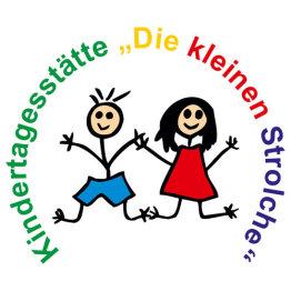 """Logo der Kindertagesstätte """"Die kleinen Strolche"""""""