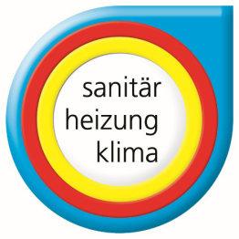 Das Bild zeigt ein Logo für Sanitär, Heizung und Klima