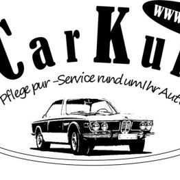 Das Bild zeigt das Logo von CarKur - Pflege pur!