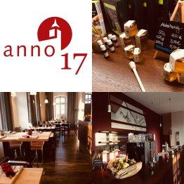 Das Bild zeigt das Logo der Gastronomie anno17