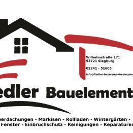Das Bild zeigt das Logo der Firma Fiedler Bauelemente