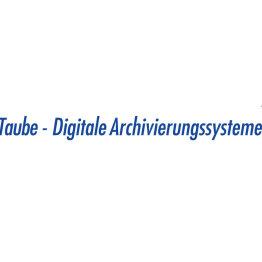 Das Bild zeigt das Logo der Taube Digitale Archivierungssysteme GmbH