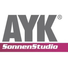 Das Bild zeigt das Logo der AYK Sonnenstudio Apricor GmbH